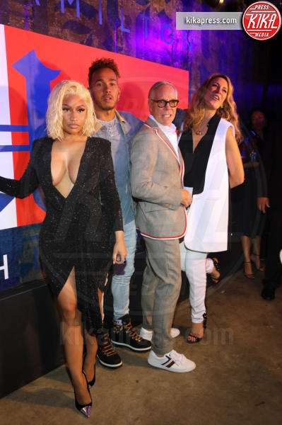 Dee Hilfiger, Lewis Hamilton, Nicki Minaj, Tommy Hilfiger - New York - 11-09-2018 - NYFW: TommyXLewis Hamilton, ma la star è Gigi Hadid!