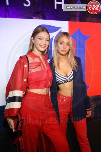 Ginny Hilfiger, Gigi Hadid - New York - 11-09-2018 - NYFW: TommyXLewis Hamilton, ma la star è Gigi Hadid!
