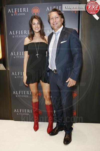 Francesca Sofia Novello, Fabio Godano - Milano - 13-09-2018 - Alfieri & St. John Party: brilla Francesca Sofia Novello