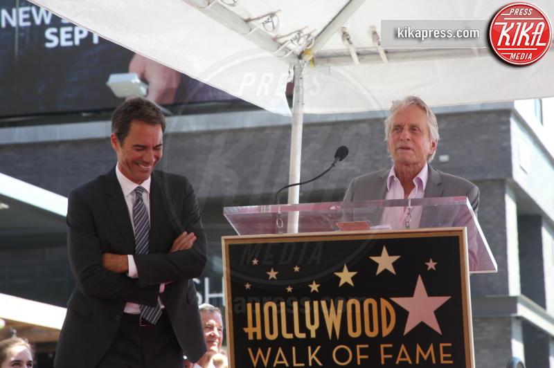 Eric McCormack, Michael Douglas - Hollywood - 13-09-2018 - Will&Grace, Eric McCormack: un'altra stella sulla Walk of Fame