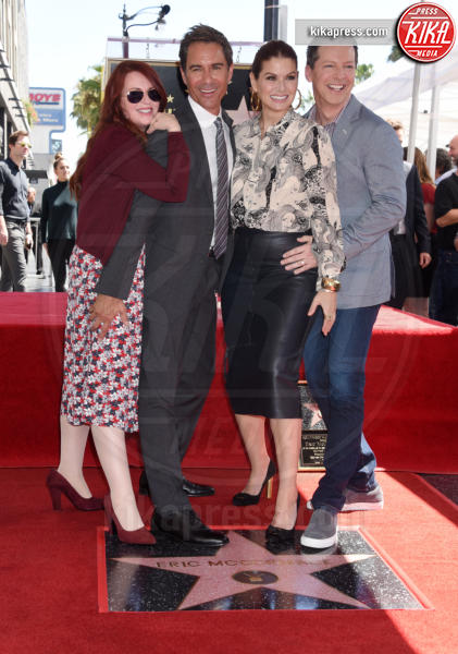Eric McCormack, Sean Hayes, Megan Mullally, Debra Messing - Hollywood - 13-09-2018 - Will&Grace, Eric McCormack: un'altra stella sulla Walk of Fame