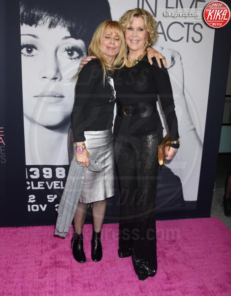 Jane Fonda, Rosanna Arquette - Westwood - 13-09-2018 - Jane Fonda in Five acts, un documentario sulla vita dell'attrice