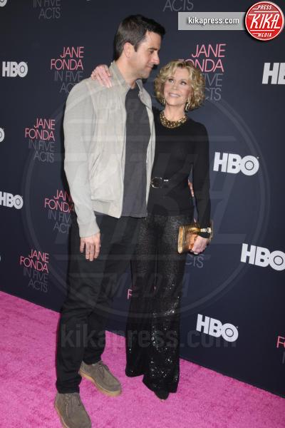 Jane Fonda, Troy Garity - Westwood - 13-09-2018 - Jane Fonda in Five acts, un documentario sulla vita dell'attrice