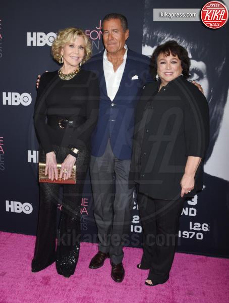Richard Plepler, Susan Lacy, Jane Fonda - Westwood - 13-09-2018 - Jane Fonda in Five acts, un documentario sulla vita dell'attrice