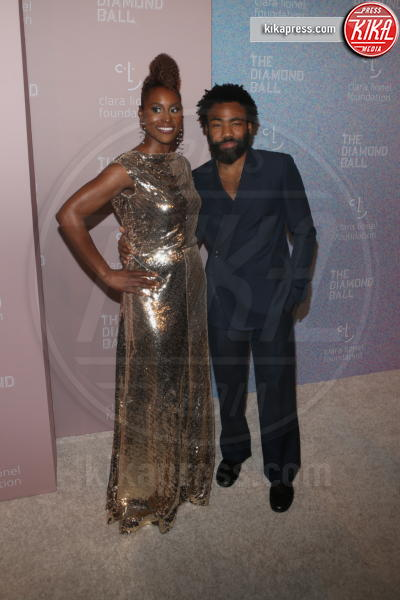 Childish Gambino, Issa Rae - New York - 14-09-2018 - Rihanna, sposa fascinosa e stravagante al Diamond Ball