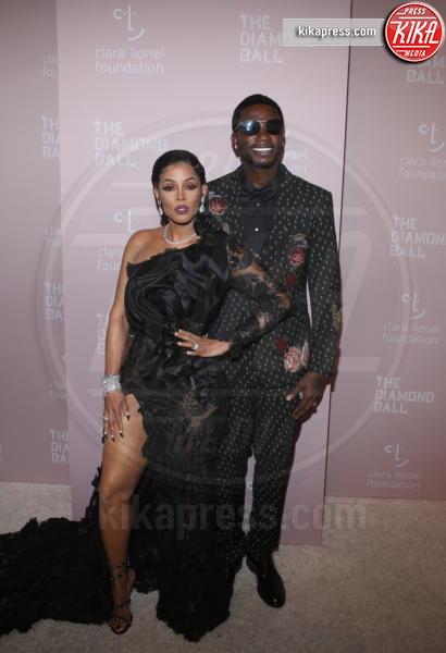 Oir, Keyshia Ka&#39, Gucci Mane - New York - 14-09-2018 - Rihanna, sposa fascinosa e stravagante al Diamond Ball