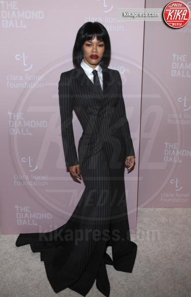 Teyana Taylor - New York - 14-09-2018 - Rihanna, sposa fascinosa e stravagante al Diamond Ball