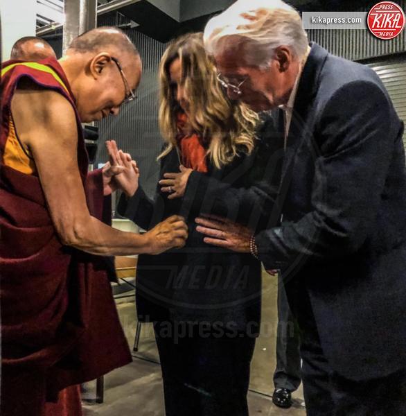 Alejandra Silva, Dalai Lama, Richard Gere - Los Angeles - 16-09-2018 - Le star che non sapevi avessero avuto figli in tarda età