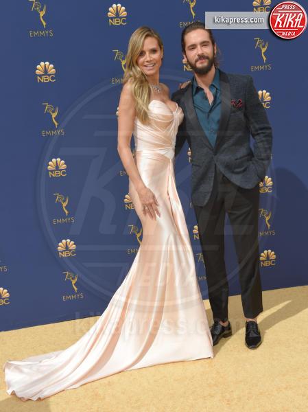 Tom Kaulitz, Heidi Klum - Los Angeles - 18-09-2018 - Emmy 2018: le coppie sul tappeto dorato