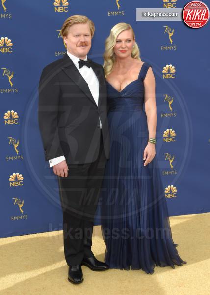 Jesse Plemons, Kirsten Dunst - Los Angeles - 18-09-2018 - Emmy 2018: le coppie sul tappeto dorato