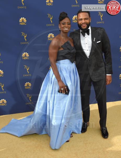 Alvina Stewart, Anthony Anderson - Los Angeles - 17-09-2018 - Emmy 2018: le coppie sul tappeto dorato
