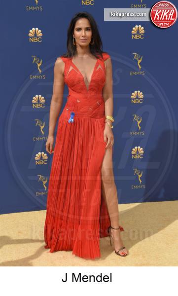 Padma Lakshmi - Los Angeles - 17-09-2018 - Emmy 2018, gli stilisti sul tappeto dorato