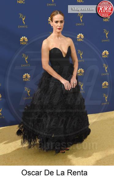 Sarah Paulson - Los Angeles - 17-09-2018 - Emmy 2018, gli stilisti sul tappeto dorato