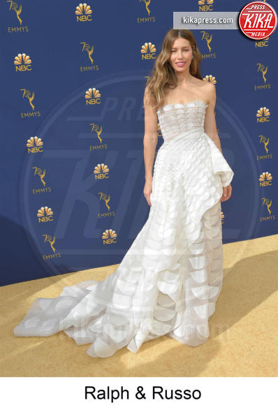 Jessica Biel - Los Angeles - 17-09-2018 - Emmy 2018, gli stilisti sul tappeto dorato