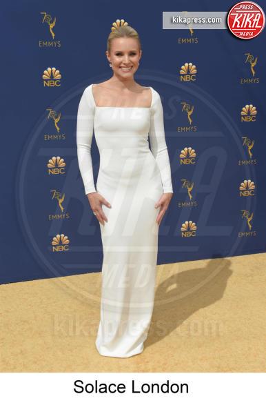 Kristen Bell - Los Angeles - 17-09-2018 - Emmy 2018, gli stilisti sul tappeto dorato
