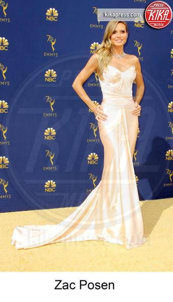 Heidi Klum - Los Angeles - 17-09-2018 - Emmy 2018, gli stilisti sul tappeto dorato