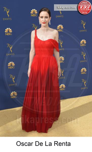 Rachel Brosnahan - Los Angeles - 17-09-2018 - Emmy 2018, gli stilisti sul tappeto dorato