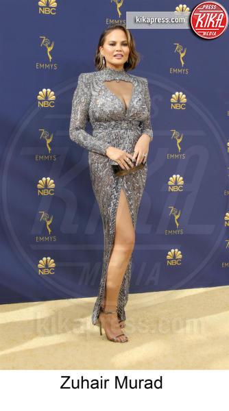 Chrissy Teigen - Los Angeles - 17-09-2018 - Emmy 2018, gli stilisti sul tappeto dorato