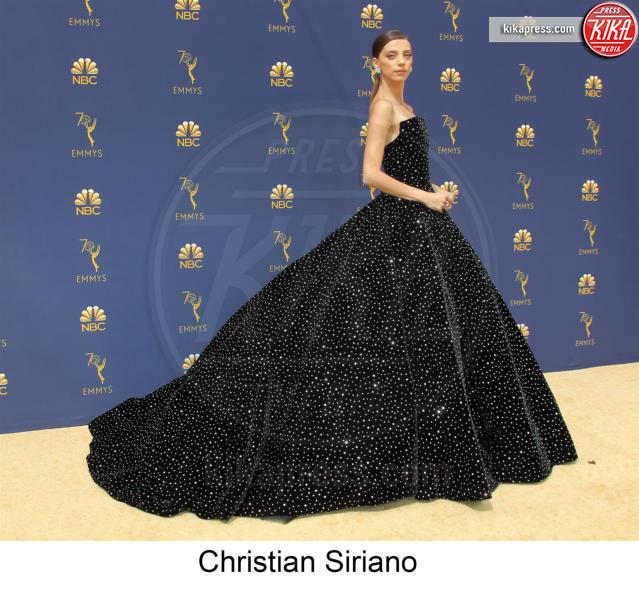 Angela Sarafyan - Los Angeles - 17-09-2018 - Emmy 2018, gli stilisti sul tappeto dorato