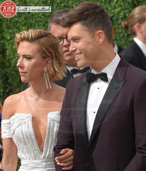 Colin Jost, Scarlett Johansson - Los Angeles - 17-09-2018 - Emmy 2018: le coppie sul tappeto dorato