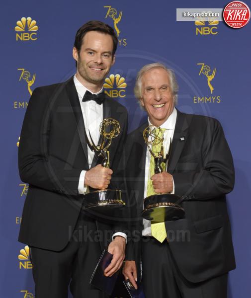 Bill Hader, Henry Winkler - Los Angeles - 18-09-2018 - Emmy 2018: trionfa La fantastica signora Maisel