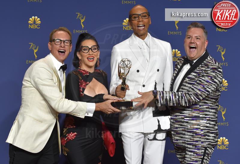 Michelle Visage, Ross Matthews, RuPaul, Carson Kressley - Los Angeles - 18-09-2018 - Emmy 2018: trionfa La fantastica signora Maisel