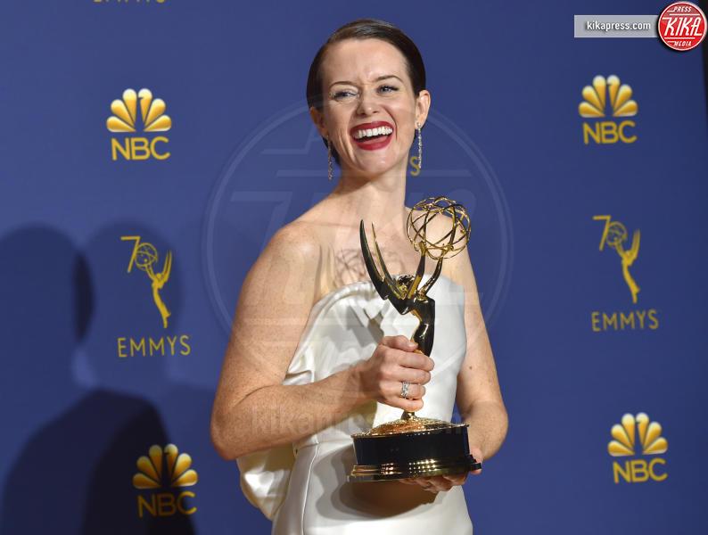 Claire Foy - Los Angeles - 17-09-2018 - Emmy 2018: trionfa La fantastica signora Maisel