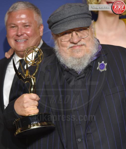 George R. R. Martin - Los Angeles - 17-09-2018 - Emmy 2018: trionfa La fantastica signora Maisel