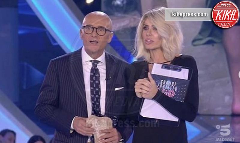 Alfonso Signorini, Ilary Blasi - Roma - 25-09-2018 - Ilary Blasi fa ironia su Fabrizio Corona, che miaccia il GF Vip