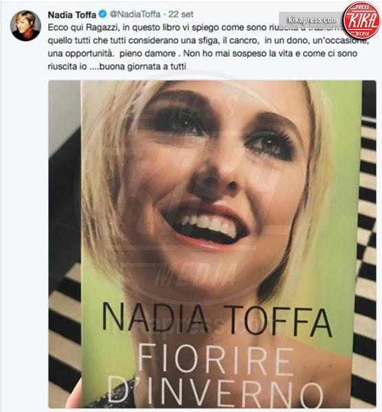 Nadia Toffa - 25-09-2018 - Nadia Toffa sarà cittadina onoraria di Taranto