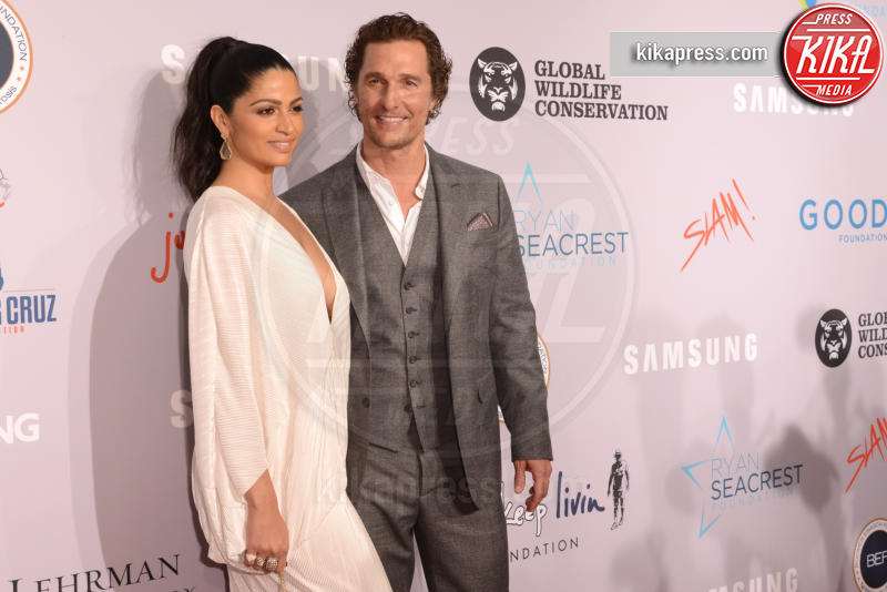 Camila Alves, Matthew McConaughey - New York - 28-09-2018 - The Batman: Matthew McConaughey sarà Harvey Dent