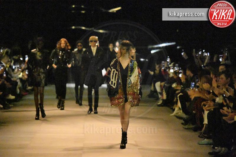 Sfilata Celine, Models - Parigi - 29-09-2018 - Paris Fashion Week: il debutto di Hedi Slimane da Celine
