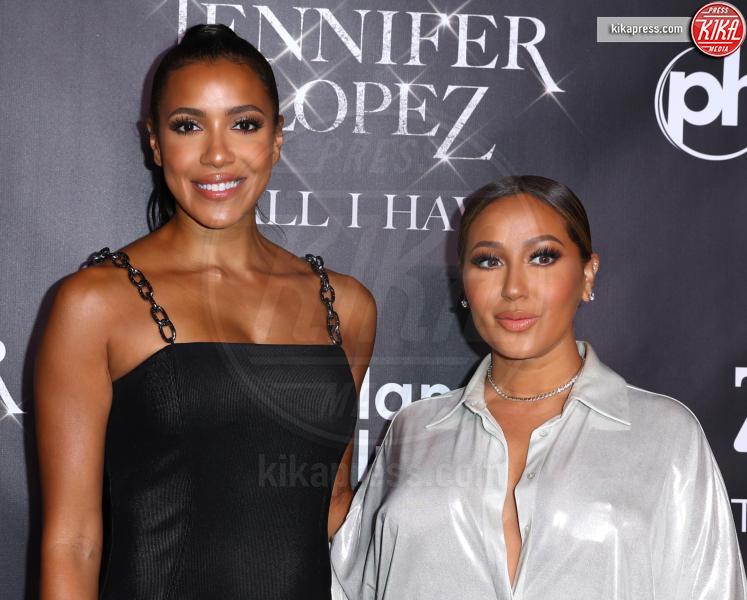 Adrienne Bailon - Las Vegas - 30-09-2018 - J Lo e Alex Rodriguez con le figlie sul red carpet di All I Have