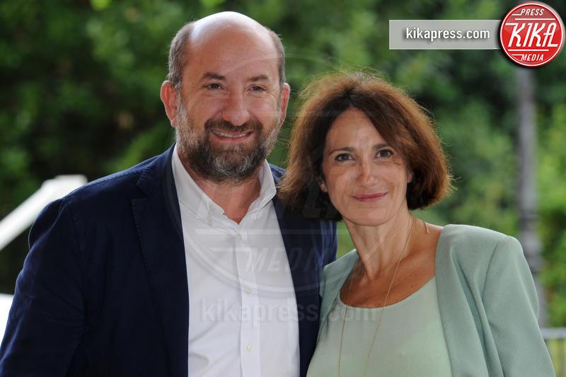 Lorenza Indovina, Antonio Albanese - Roma - 01-10-2018 - I Topi: Antonio Albanese, un boss mafioso tutto da ridere