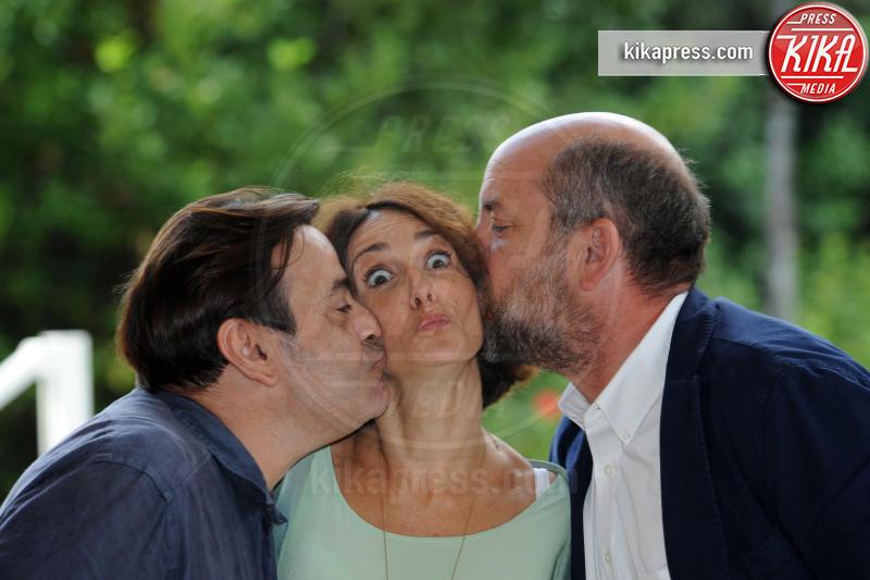 Nicola Rignanese, Lorenza Indovina, Antonio Albanese - Roma - 01-10-2018 - I Topi: Antonio Albanese, un boss mafioso tutto da ridere