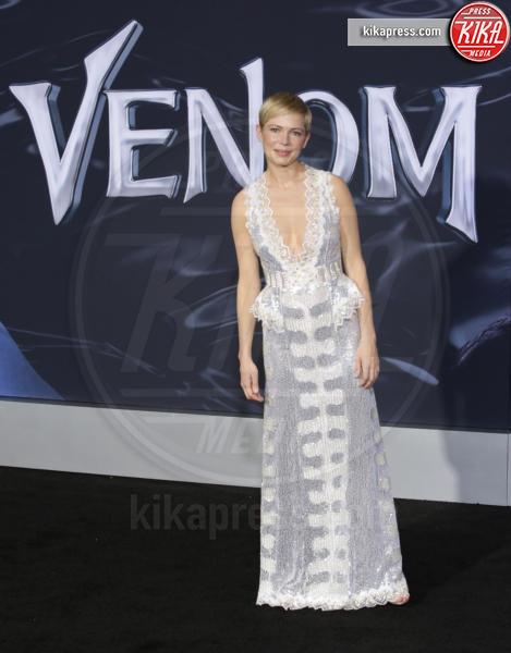 Michelle Williams - Westwood - 02-10-2018 - Michelle Williams, alla prima di Venom brilla la vera nuziale