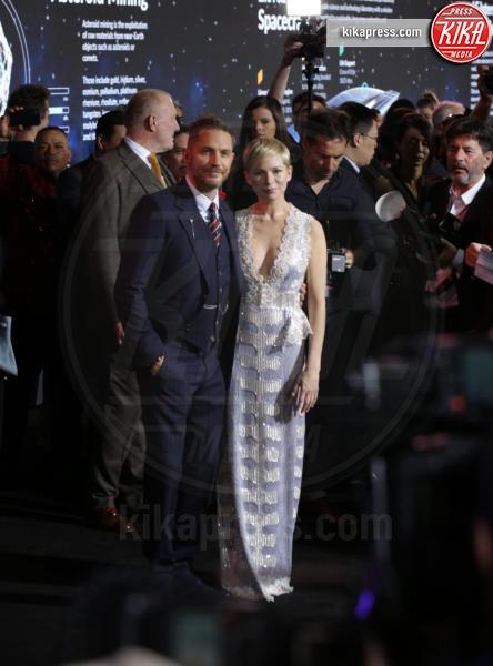 Tom Hardy, Michelle Williams - Westwood - 02-10-2018 - Michelle Williams, alla prima di Venom brilla la vera nuziale