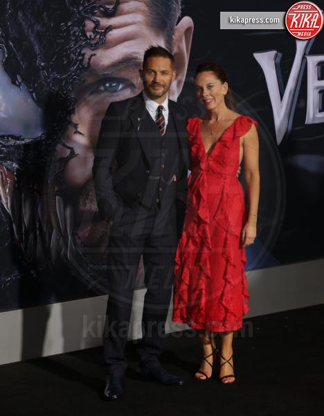 Kelly Marcel, Tom Hardy - Westwood - 02-10-2018 - Michelle Williams, alla prima di Venom brilla la vera nuziale
