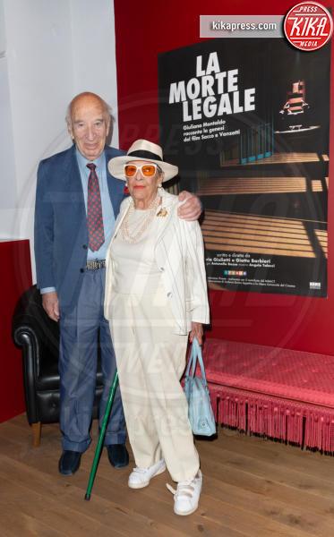 Vera Pescarolo Montaldo, Giuliano Montaldo - Roma - 03-10-2018 - La Morte Legale, la storia di Sacco e Vanzetti vista da Montaldo