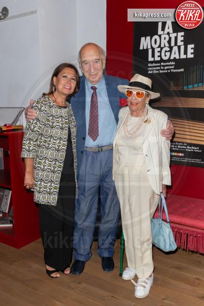 Rosanna Fratello, Vera Pescarolo Montaldo, Giuliano Montaldo - Roma - 03-10-2018 - La Morte Legale, la storia di Sacco e Vanzetti vista da Montaldo