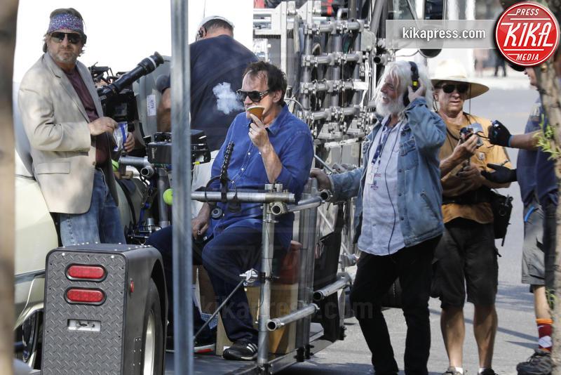 Quentin Tarantino - Burbank - 06-10-2018 - C'era una volta a Hollywood, le locandine omaggiano l'Italia