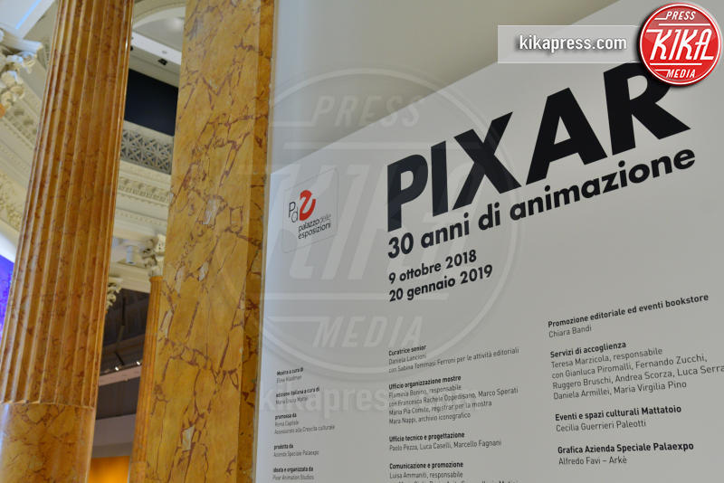 Pixar 30 anni di animazione - Roma - 08-10-2018 - Pixar, 30 anni di cartoni animati in mostra a Roma