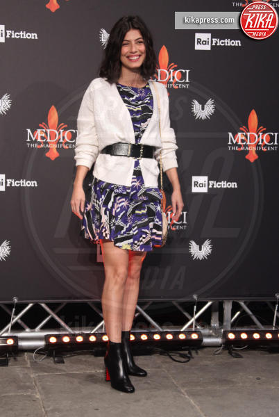 Alessandra Mastronardi - Firenze - 10-10-2018 - Alessandra Mastronardi brilla alla presentazione de I Medici 2
