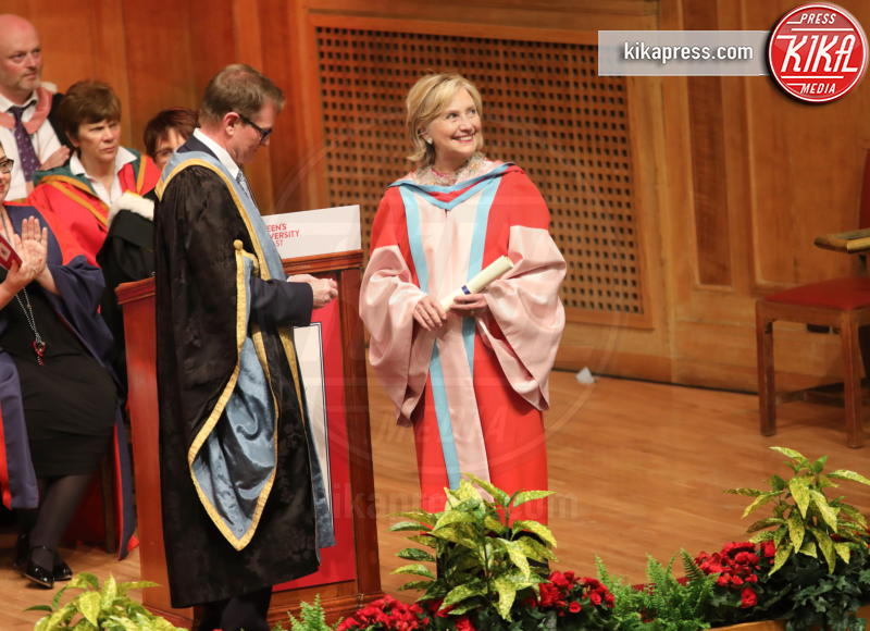 Hillary Clinton - Belfast - 10-10-2018 - Hillary Clinton, laurea honoris causa dall'Università di Belfast