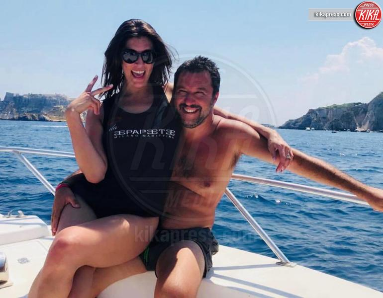 Matteo Salvini, Elisa Isoardi - Milano - 23-06-2018 - Barbara D'Urso provoca Matteo Salvini: