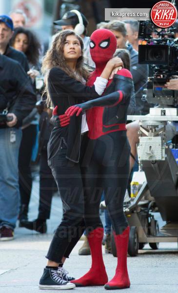 Zendaya, Tom Holland - New York - 13-10-2018 - Spiderman Far From Home, ecco il nuovo costume dell'uomo ragno