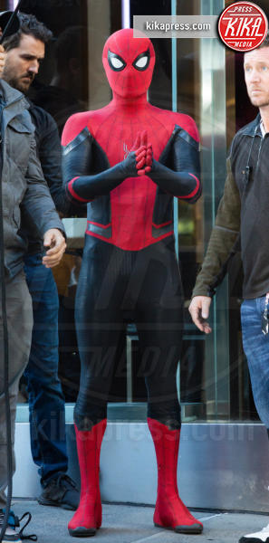 Tom Holland - New York - 13-10-2018 - Spiderman Far From Home, ecco il nuovo costume dell'uomo ragno