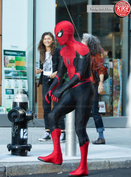 Zendaya, Tom Holland - New York - 13-10-2018 - Spiderman Far From Home, ecco il nuovo costume dell'uomo ragno