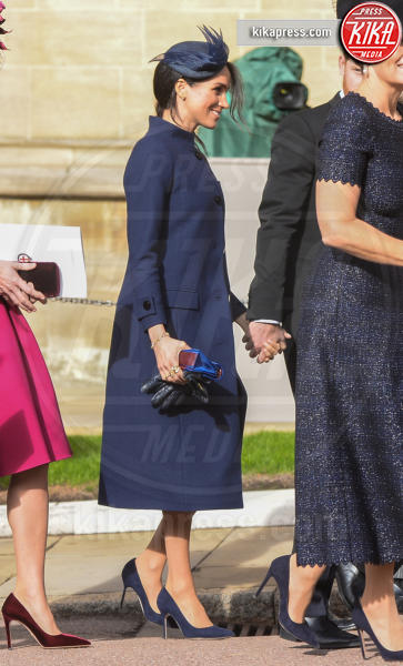Meghan Duchess of Sussex, Prince William, William Duke of Cambridge, Sophie Countess of Wessex, Kate Middleton - Windsor - 12-10-2018 - Meghan Markle incinta: tutti i look premaman della duchessa