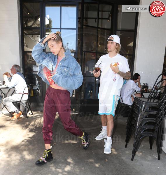 Hailey Baldwin, Justin Bieber - Los Angeles - 15-10-2018 - Bieber-Baldwin, la villa da novelli sposi e' un vero sogno